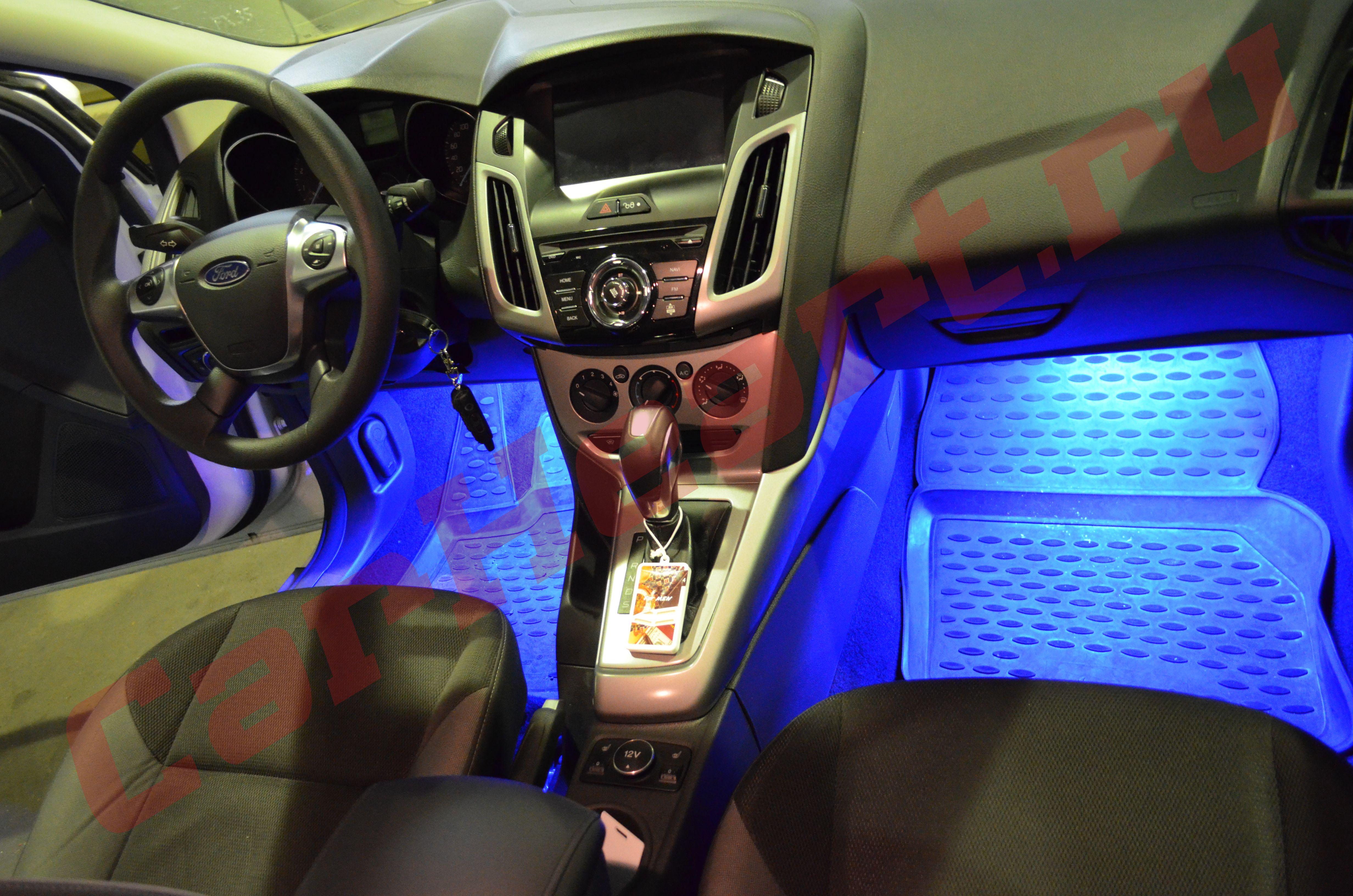 Форд фокус 2 какая лампа подсветки номера 19 фотография